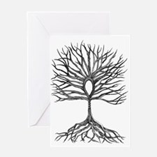 Ankh Tree of LIfe Greeting Cards