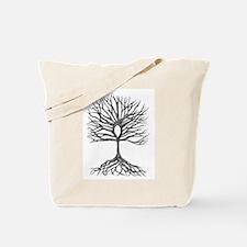 Ankh Tree of LIfe Tote Bag
