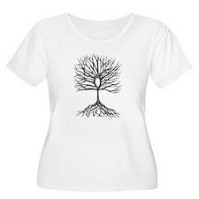 Ankh Tree of LIfe Plus Size T-Shirt