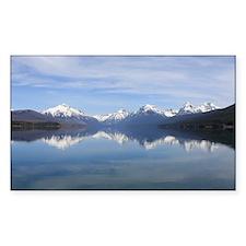 Mountain Reflection Decal