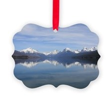 Mountain Reflection Ornament