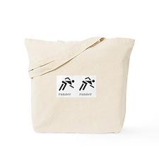 Runner Runner Tote Bag