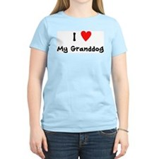 I Heart My Graonddog T-Shirt