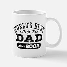 World's Best Dad Since 2002 Mug