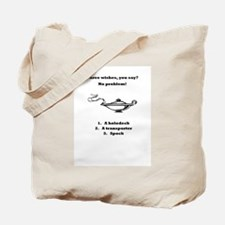 Three Wishes - Trek Style Tote Bag
