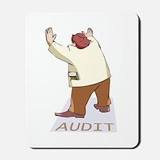 Audit Man Mousepad