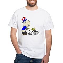 Piss On Global Warming Shirt