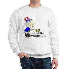 Piss On Global Warming Sweatshirt