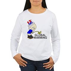 Piss On Global Warming T-Shirt