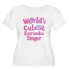 Worlds Cutest Karaoke Singer T-Shirt