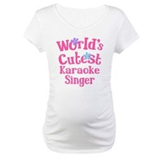 Worlds Cutest Karaoke Singer Shirt