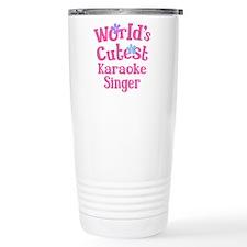 Worlds Cutest Karaoke Singer Travel Mug