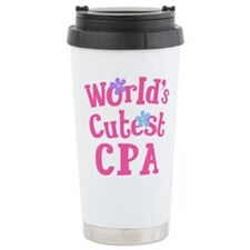 Worlds Cutest CPA Travel Mug