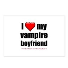 """Love My Vampire Boyfriend"" Postcards (Package of"