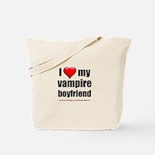 """Love My Vampire Boyfriend"" Tote Bag"