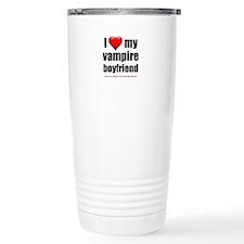 """Love My Vampire Boyfriend"" Travel Mug"