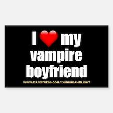 """""""Love My Vampire Boyfriend"""" Decal"""