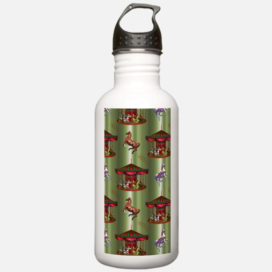 Christmas Carousel Water Bottle