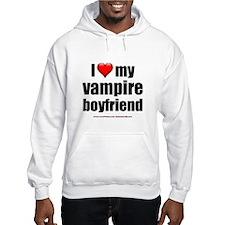 """Love My Vampire Boyfriend"" Hoodie"