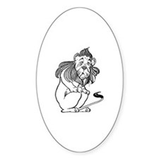 The Wizard of Oz Cowardly Lion Decal