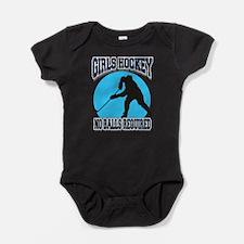 Girl's Hockey Baby Bodysuit