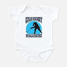Girl's Hockey Infant Bodysuit