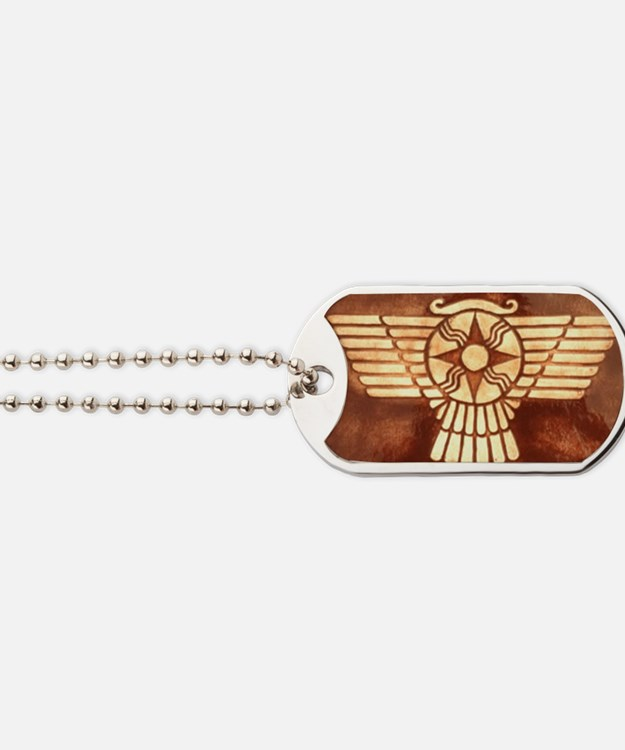 Sumer Wing Disc Dog Tags