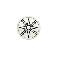 Star of Shamash Mini Button