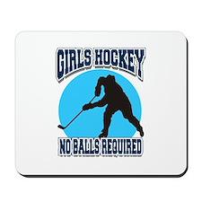 Girl's Hockey Mousepad