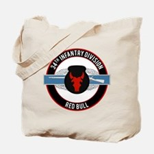 34th Infantry CIB Tote Bag