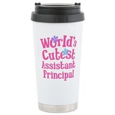 Worlds Cutest Assistant Principal Travel Mug