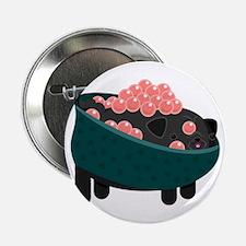 "Salmon Roe Sushi Pug 2.25"" Button"