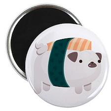 Nigiri-Pug Magnet