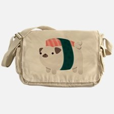 Nigiri-Pug Messenger Bag