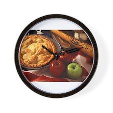 Apple Pie Wall Clock