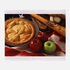 Apple Pie Throw Blanket