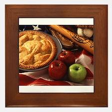 Apple Pie Framed Tile