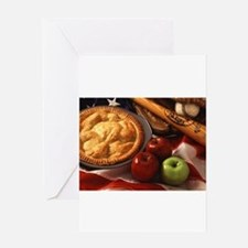 Apple Pie Greeting Cards
