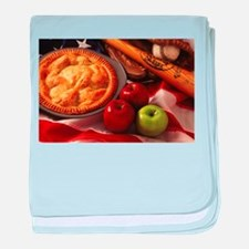 Apple Pie baby blanket