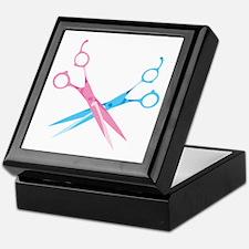 Scissors Keepsake Box