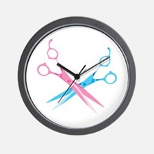 Scissors Wall Clock
