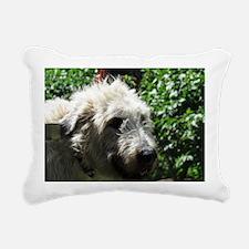 Irish Wolfhound Rectangular Canvas Pillow