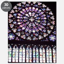 Notre Dame Window Puzzle