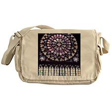 Notre Dame Window Messenger Bag