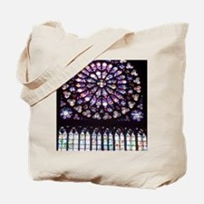 Notre Dame Window Tote Bag