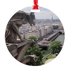Gargoyle at Notre Dame Ornament