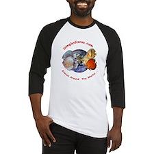 Classic Simplydiscus Logo Baseball Jersey