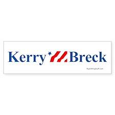 Kerry / Breck Bumper Bumper Sticker
