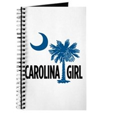 Blue Carolina Girl 2 Journal