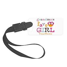 Grandmas Favorite Girl Personalized Luggage Tag